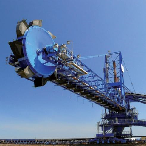 Tenova 40RE6000. Bucket wheel excavator Image