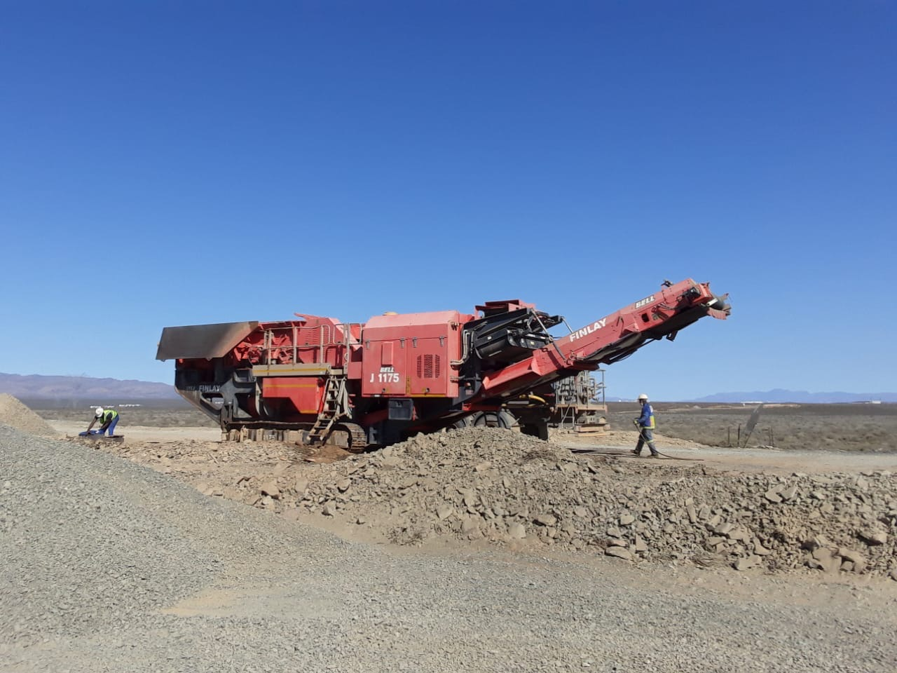 Bell J1175 Jaw Crusher Image